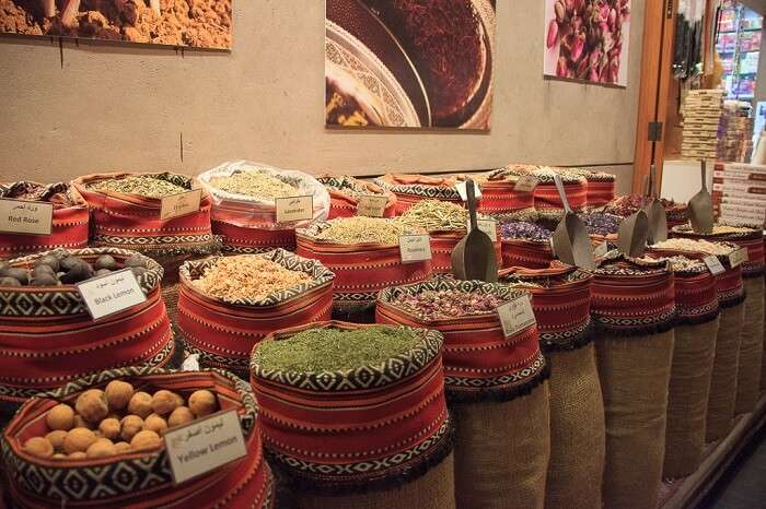 spices in souk
