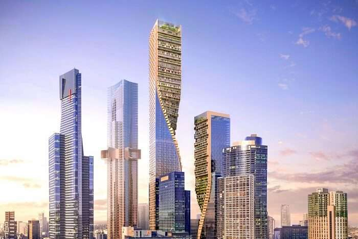tallest building oz