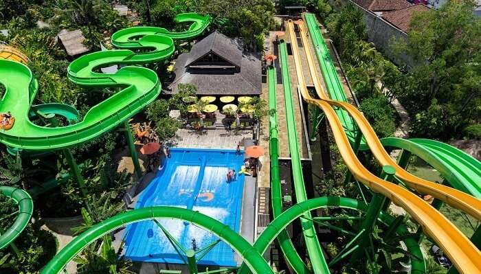 water park in bali