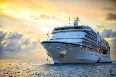 117 days cruise around the world