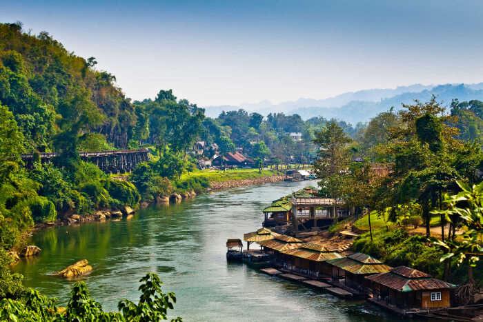 iconic landmark of Kanchanaburi