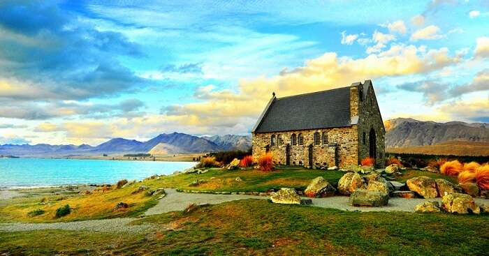 church in remote corner of new zealand
