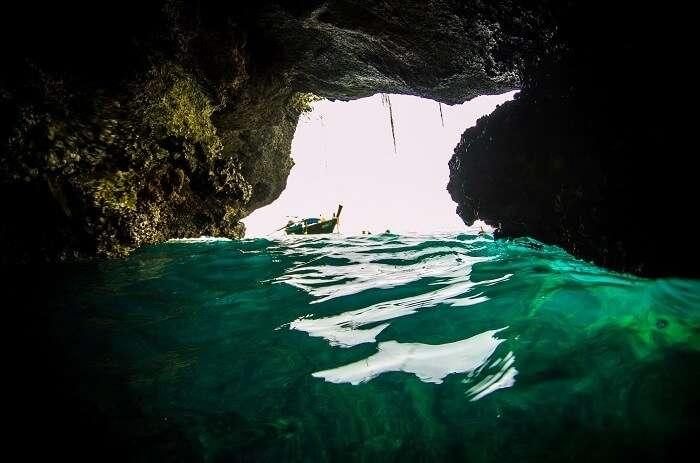 Emerald Cave On Koh Muk
