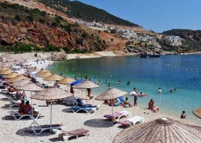 the most crowded Turkey beaches
