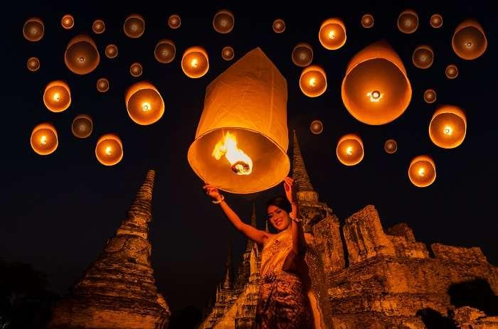 Loy Krathong Festival Cover