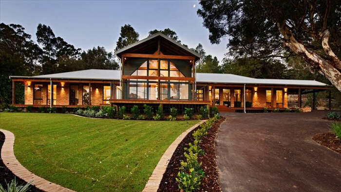 stylish cottage