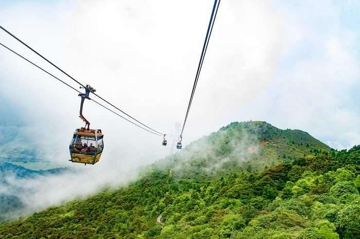 Ngong Ping Village Cable Car