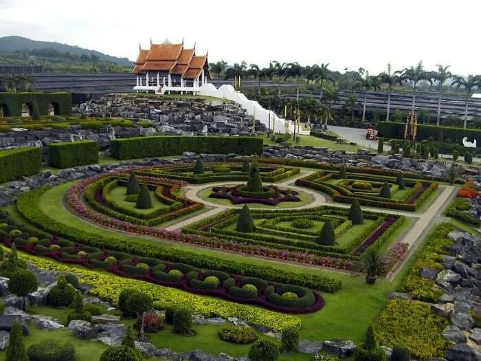 landscaped park