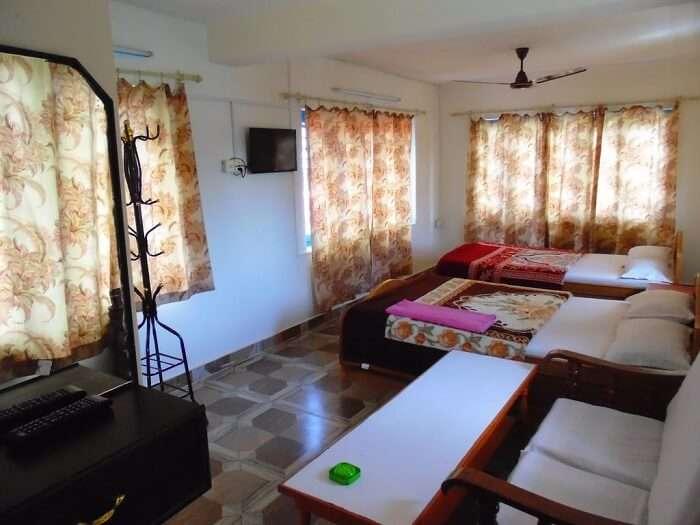 bedroom in homestay