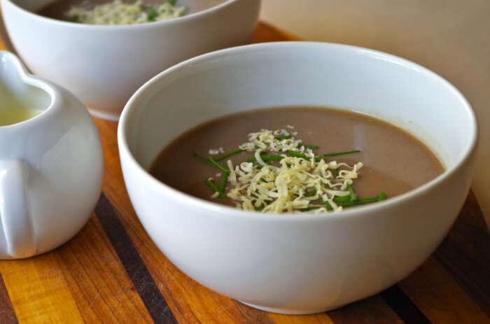 tasty flour soup