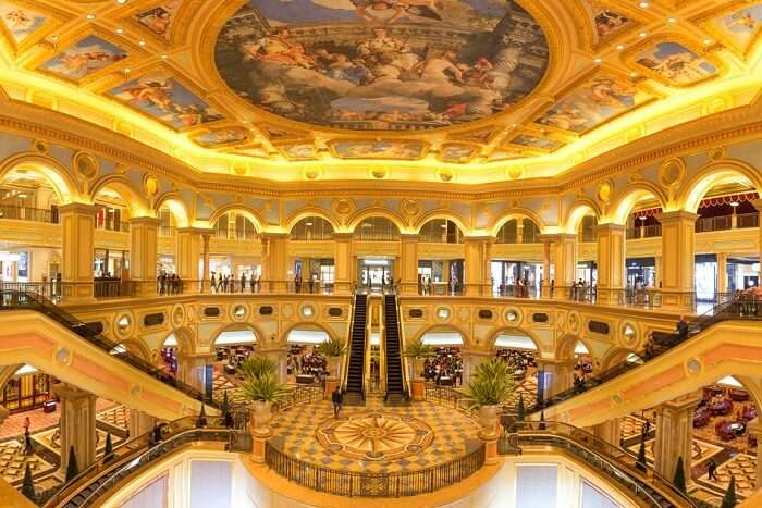 Royal looking Sands Casino