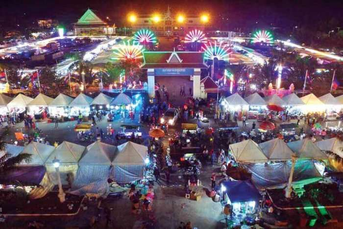 the popular festival in Cambodia
