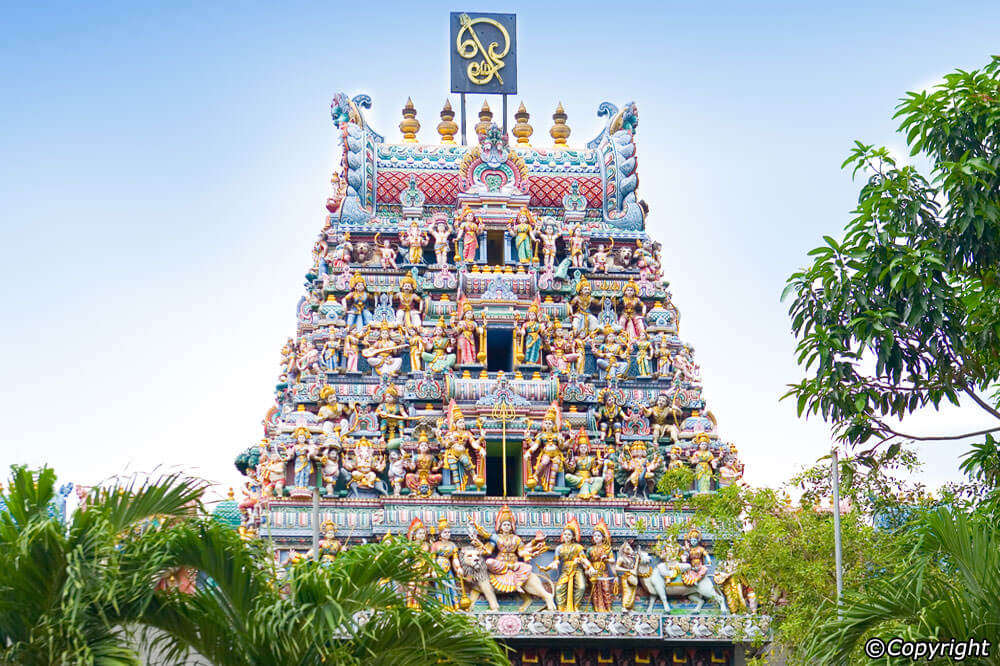 oldest Hindu temple in Singapore