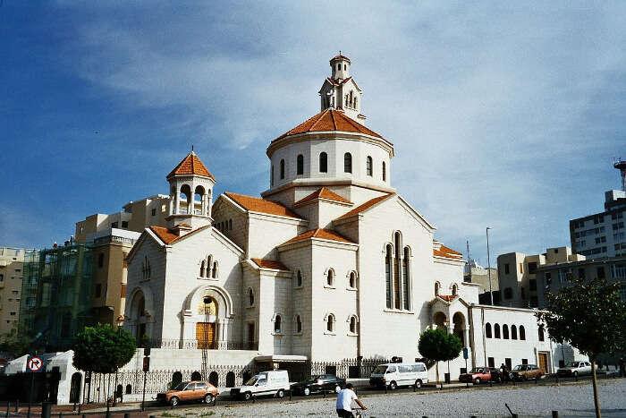 gorgeous churches in beirut