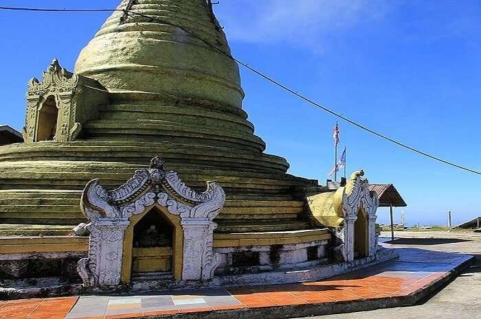 The Popa Taungkalat Shrine