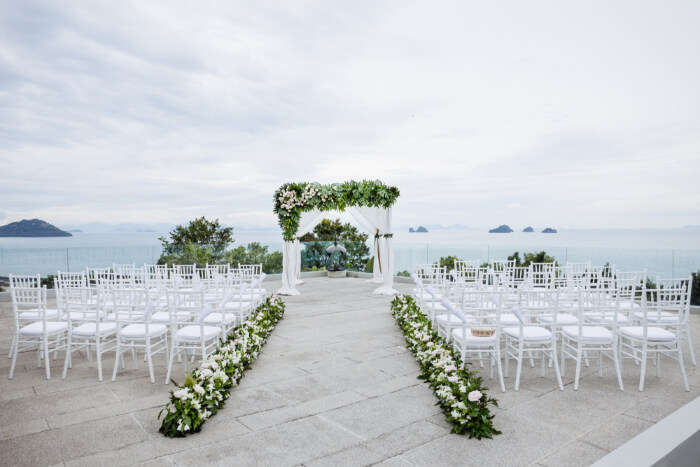 Romantic Thailand Wedding Venues