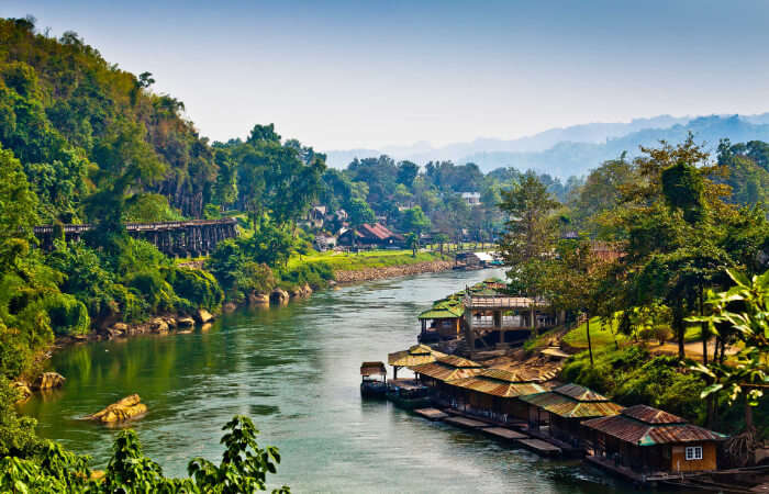 Kanchanaburi town. Covers-koh-tah