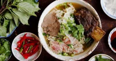 tasty food in Ho Chi Minh