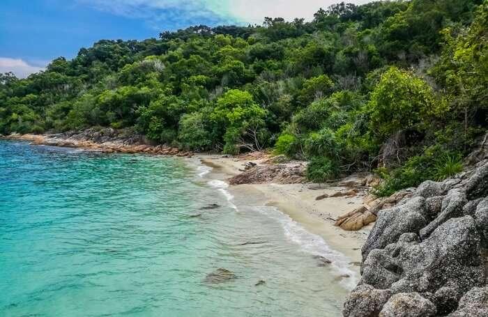 perhentian island adam and eve beach