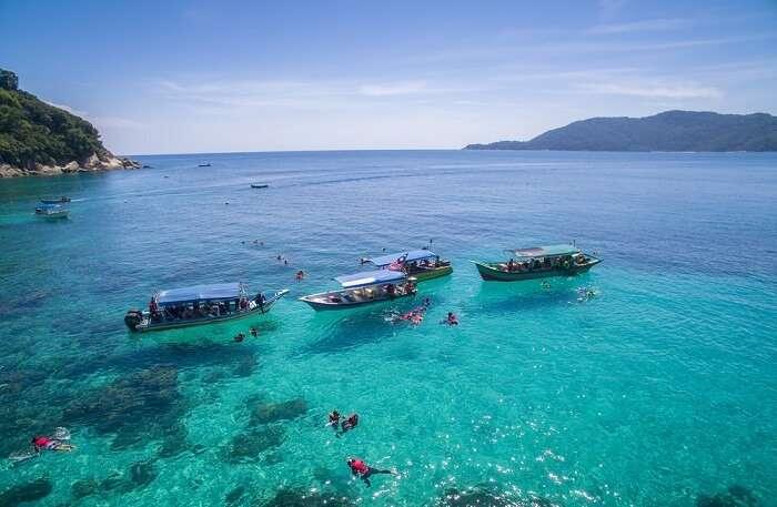 perhentian island snorkeling