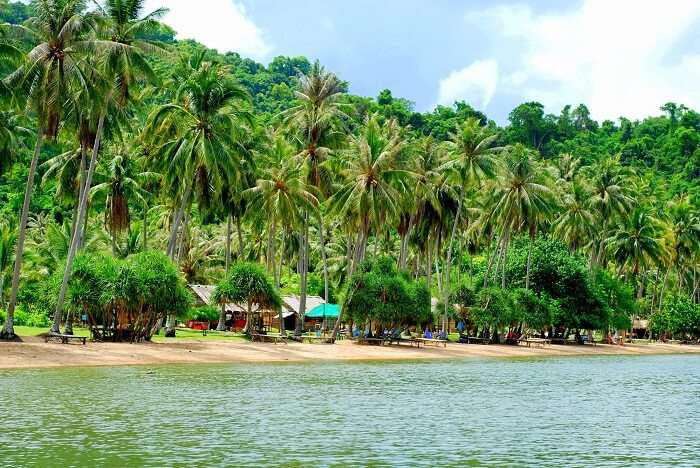 famous island in Kep from Kampot