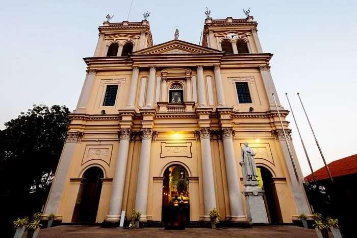 Church in Negombo