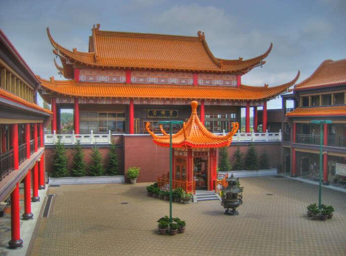 Buddhist Temple, International Buddhist Society