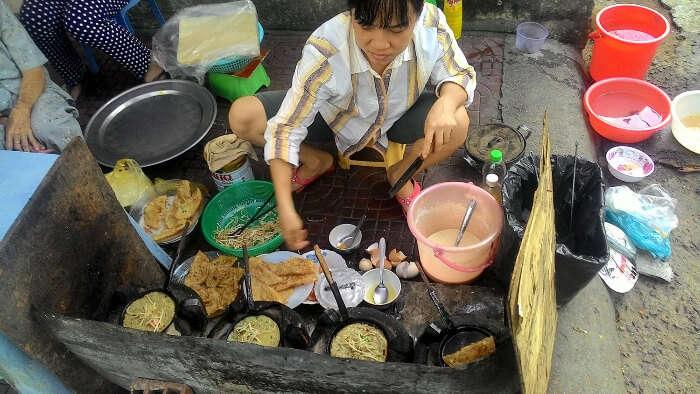 fantastic cuisine of Hanoi