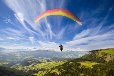 popular location for Paragliding
