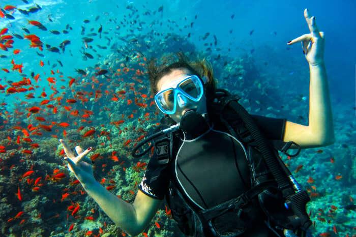 Cover Scuba Diving In Australia