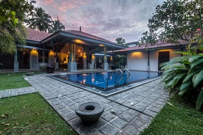 Cover for villas in bentota