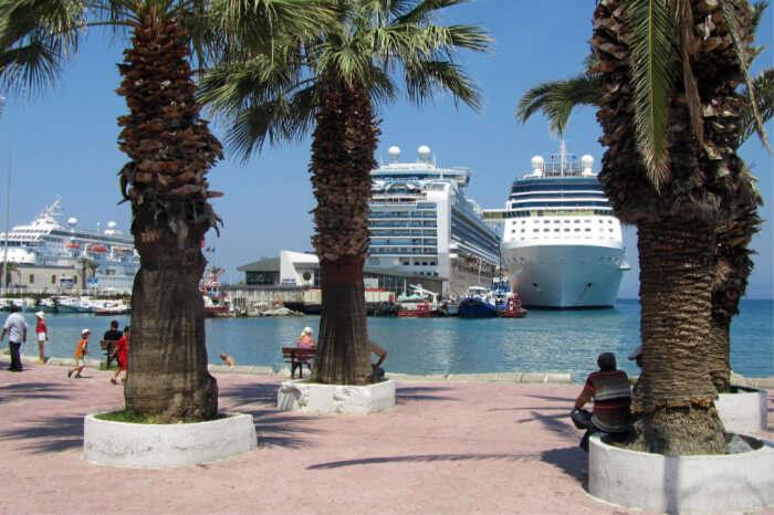 Mediterranean Seas and enjoy the natural wonders