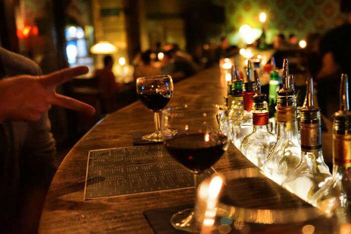 Drinks and bar