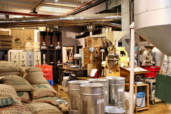 coffee production line will tempt away any coffee lover