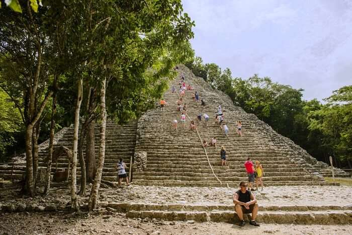 View of pyramid
