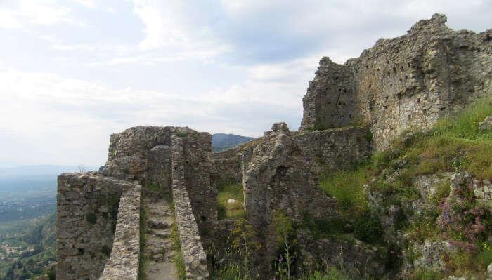 Mystras Castle