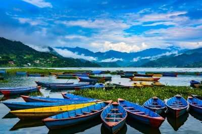 scenic beauty of the Nepalese city