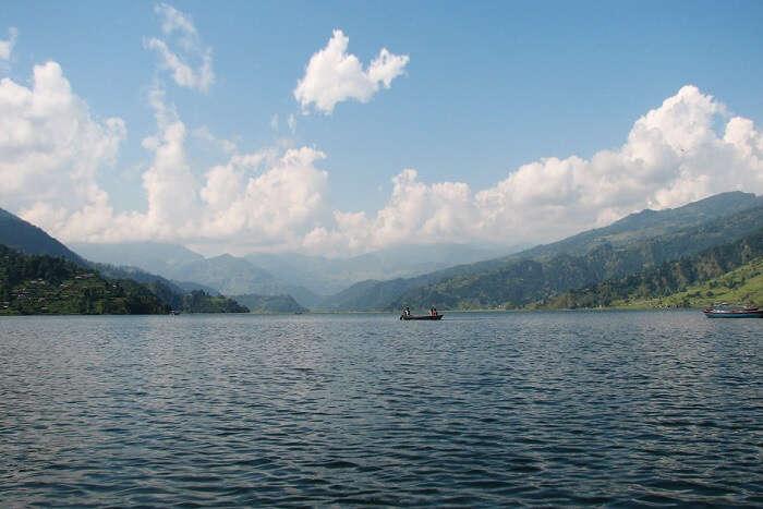 large lake in Nepal