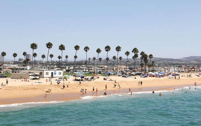 beautiful sandy shore