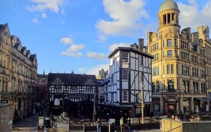 Bar in Manchester