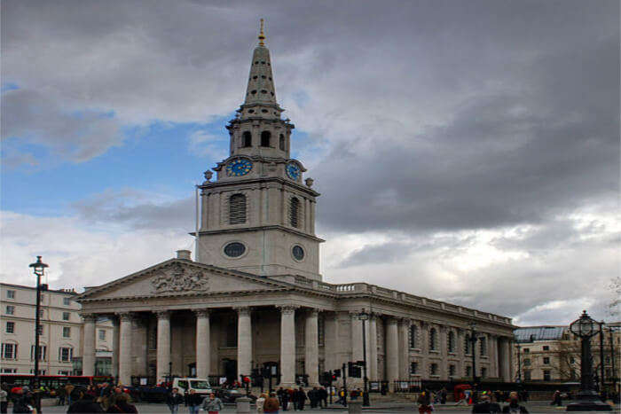 St. Martin in the Fields- A beauty in the heart of London