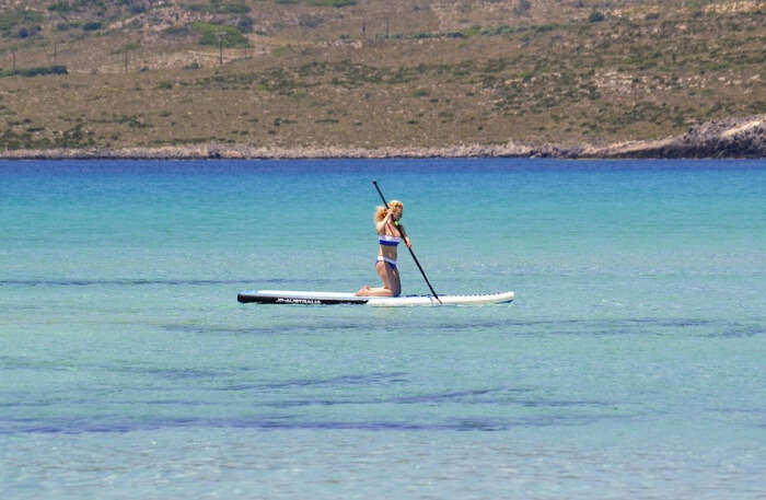 Stand-Up Paddleboarding View