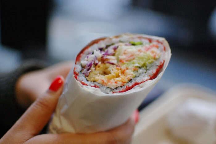 Sumo Crunch Sushirrito