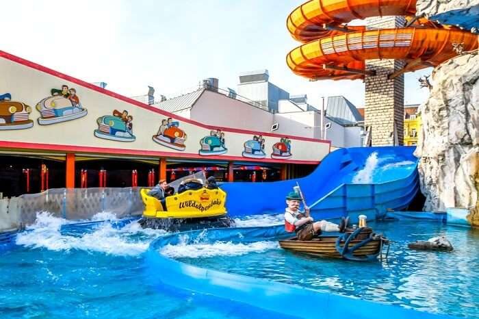 thrilling experience of Waterparks