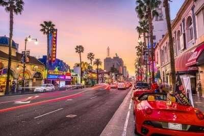 Major attractions in Los Angeles
