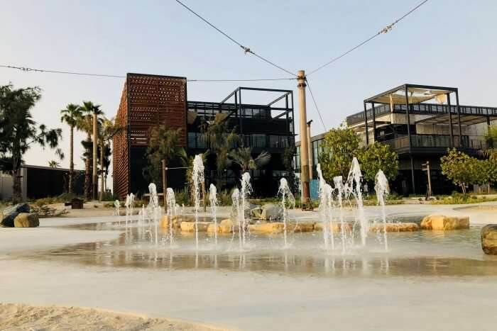 Architecture Of La Mer Beach Dubai