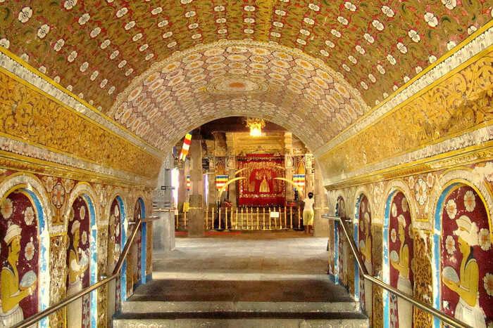Beautiful golden Architecture