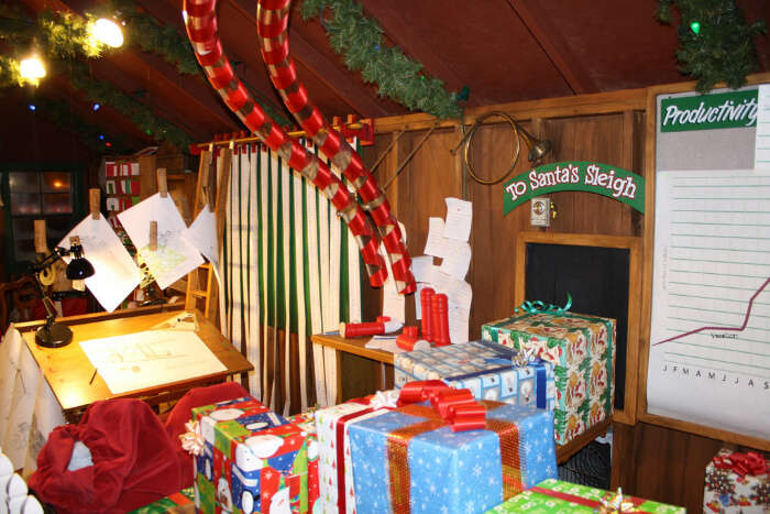 Attend Santa's Workshop