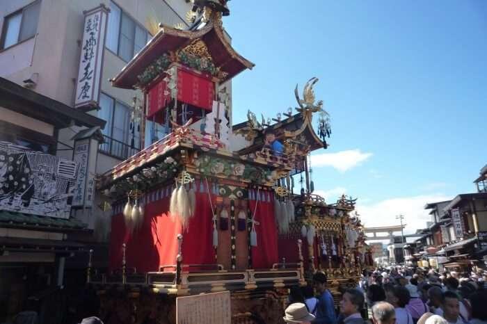 Attend the Takayama Autumn Festival