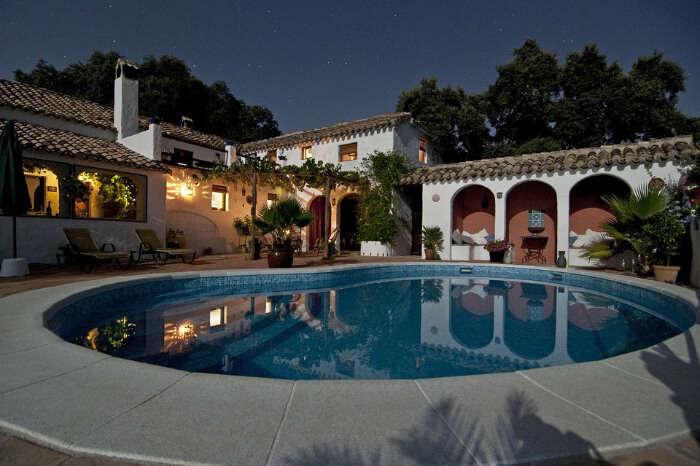 A beautiful luxury pool villa